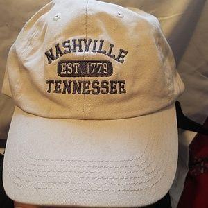 NEW NASHVILLE TENNESSEE ADJUSTABLE BASEBALL HAT